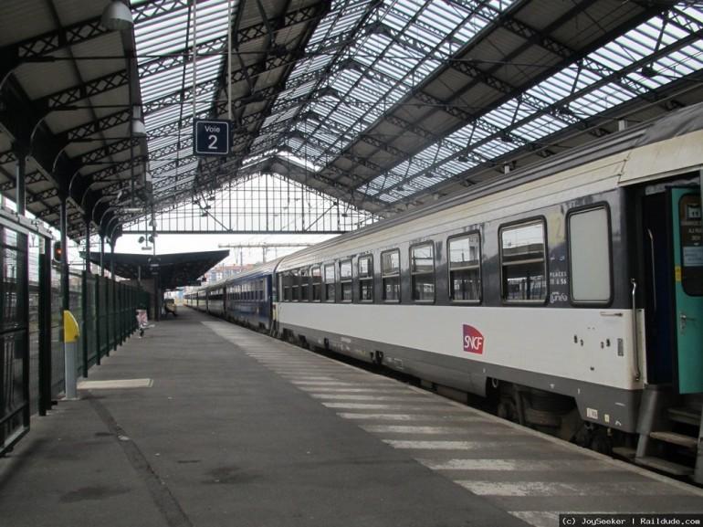 Tren nocturno a Disneyland París