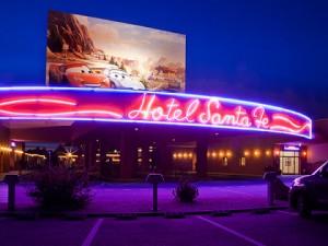 Habitaciones familiares del Hotel Santa Fe en Disneyland París para familias numerosas