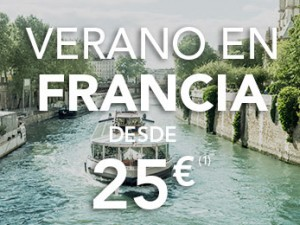 Hendaya París en TGV desde 25 euros