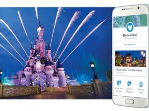 Aplicación móvil de Disneyland París