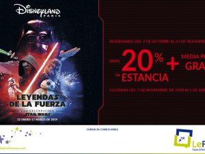 Oferta Disneyland París 2018-19