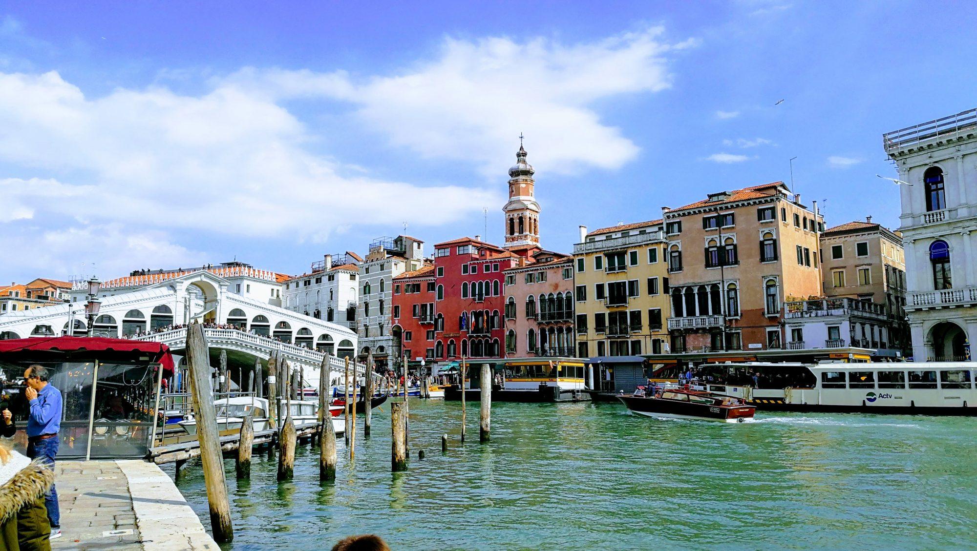 Venecia, Gran Canal y Puente de Rialto