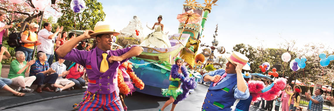 Familias numerosas en Disneyland Paris