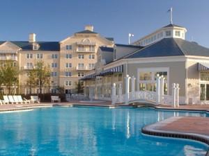Habitaciones familiares del Hotel Newport en Disney para familias numerosas