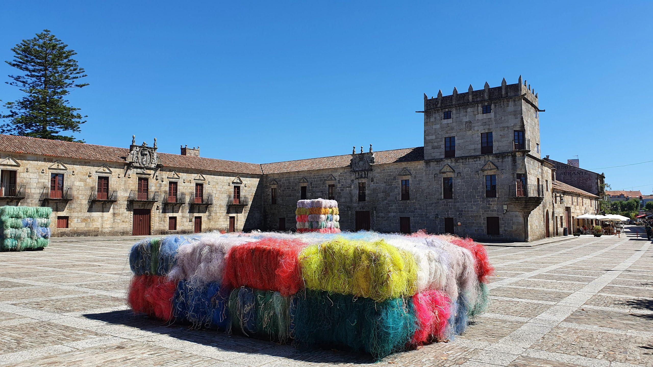 Plaza de Fefiñans en Cambados